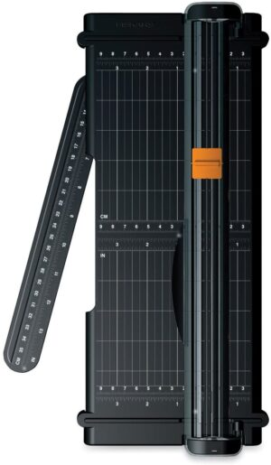 Product Image for Fiskars SureCut Portable Trimmer measure and cut tool